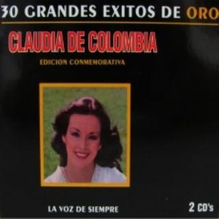 Claudia de Colombia 30 Grandes Exitos de Oro