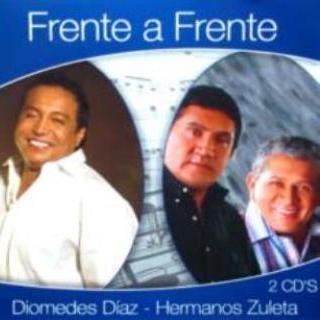 Frente a frente Diomedes Diaz y Hermanos Zuleta
