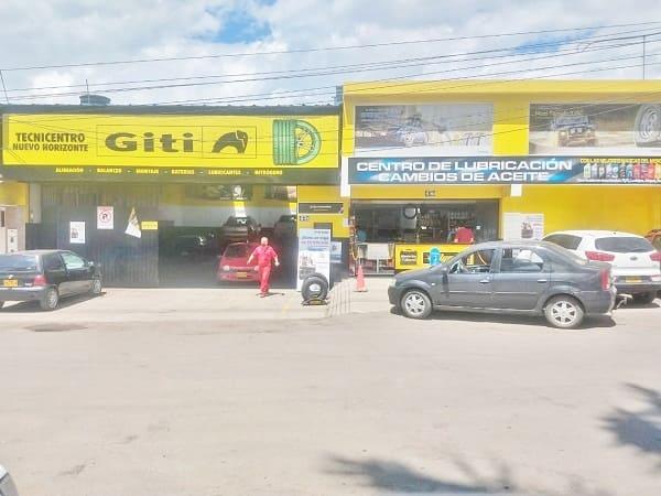 Establecimiento Tecnicentro Nuevo Horizonte.
