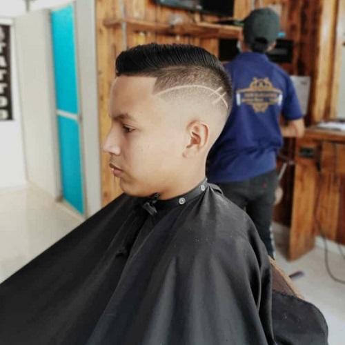 Imagen frontal de Elegance Barber Shop en Villeta