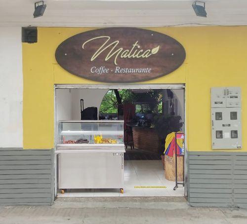 Imagen del frente de La Matica de Café Sucursal Centro