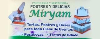 Banner de Pastelería y Repostería Miryam en Villeta